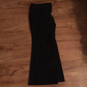 Black Express Editor Dress Pants